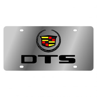 Eurosport Daytona® - GM License Plate with Black DTS Logo