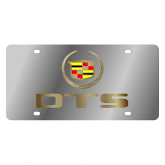 Eurosport Daytona® - GM License Plate with Gold DTS Logo