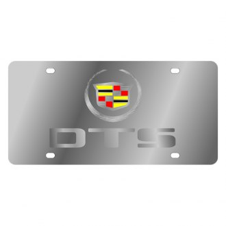 Eurosport Daytona® - GM License Plate with Silver DTS Logo