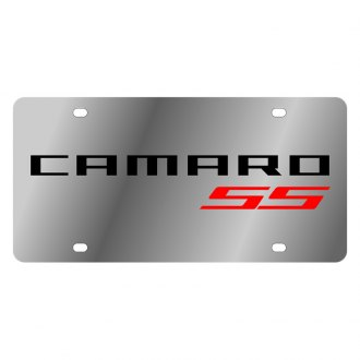 Eurosport Daytona® - GM License Plate with Black Camaro Logo
