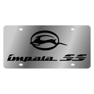 Eurosport Daytona® - GM License Plate with Black Impala SS Logo