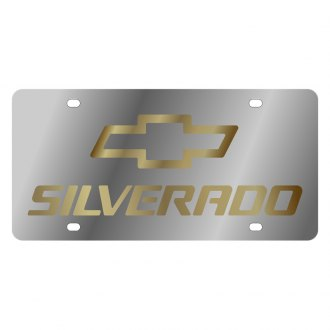 Eurosport Daytona® - GM License Plate with Silverado Logo