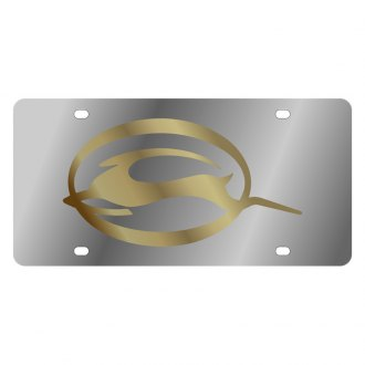 Eurosport Daytona® - GM License Plate with Gold Impala Logo