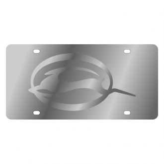 Eurosport Daytona® - GM License Plate with Silver Impala Logo