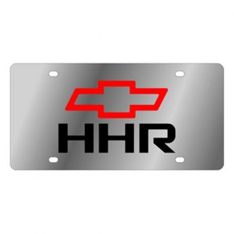 Eurosport Daytona® 1372-1 - GM License Plate with Black HHR Logo