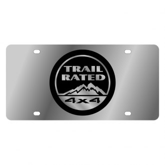 Eurosport Daytona® - MOPAR License Plate with Black Trail Rated Logo