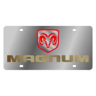 Eurosport Daytona® - MOPAR License Plate with Gold Magnum Logo