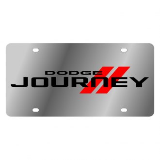 Eurosport Daytona® - MOPAR License Plate with Black Journey Logo