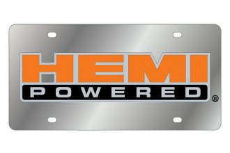 Eurosport Daytona® - License Plate with SS HEMI Powered Badge