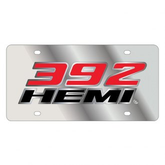 Eurosport Daytona® - License Plate with SS 392 HEMI Badge