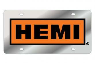 Eurosport Daytona® - License Plate with SS 392 HEMI Retro Badge