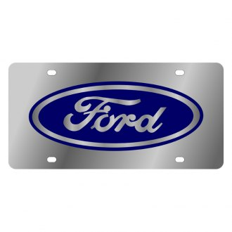 Eurosport Daytona® - Ford Motor Company License Plate with Blue Ford Logo
