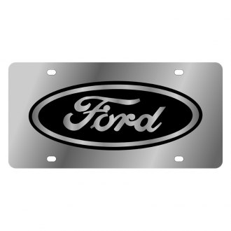 Eurosport Daytona® - Ford Motor Company License Plate with Black Ford Logo