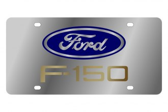 Eurosport Daytona® - Ford Motor Company License Plate with Gold F-150 Logo