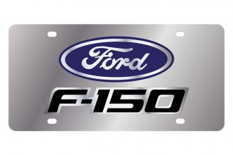 Eurosport Daytona® - Ford Motor Company License Plate with Black F-150 Logo