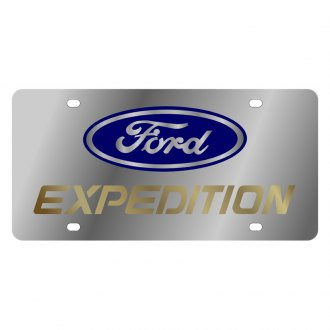 Eurosport Daytona® - Ford Motor Company License Plate with Gold Expedition Logo