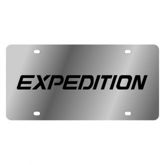 Eurosport Daytona® - Ford Motor Company License Plate with Black Expedition Logo