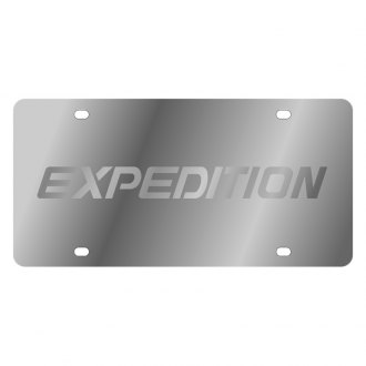 Eurosport Daytona® - Ford Motor Company License Plate with Silver Expedition Logo