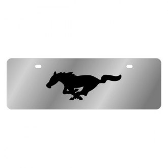 Eurosport Daytona® - Ford Motor Company License Plate with Black Mustang Logo