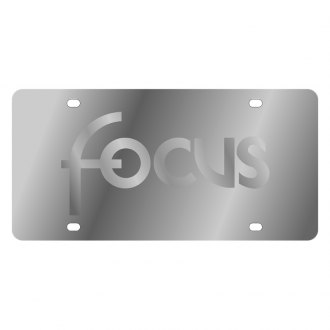 Eurosport Daytona® - Ford Motor Company License Plate with Silver Focus Logo