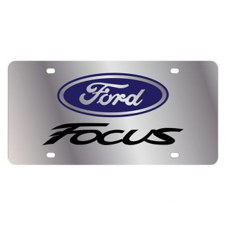 Eurosport Daytona® - Ford Motor Company License Plate with Black Focus Logo