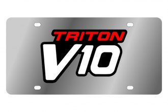Eurosport Daytona® - Ford Motor Company License Plate with Black Triton V10 Logo