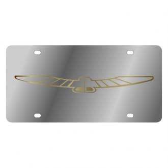 Eurosport Daytona® - Ford Motor Company License Plate with Gold Thunderbird Logo
