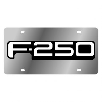 Eurosport Daytona® - Ford Motor Company License Plate with Black F-250 Logo