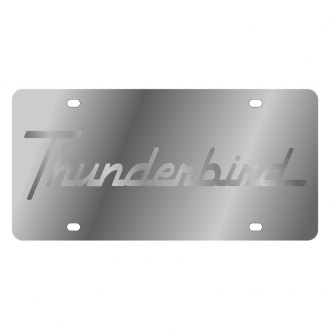 Eurosport Daytona® - Ford Motor Company License Plate with Silver Thunderbird Logo