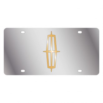 Eurosport Daytona® - Ford Motor Company License Plate with Gold Lincoln Logo