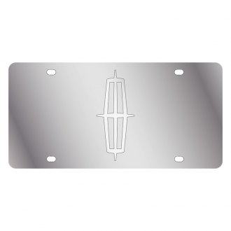 Eurosport Daytona® - Ford Motor Company License Plate with Silver Lincoln Logo