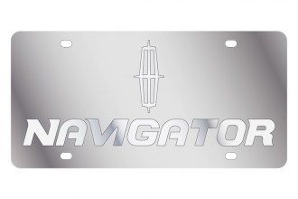 Eurosport Daytona® - Ford Motor Company License Plate with Black Navigator Logo