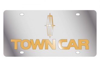 Eurosport Daytona® - Ford Motor Company License Plate with Gold Town Car Logo