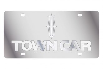 Eurosport Daytona® - Ford Motor Company License Plate with Silver Town Car Logo