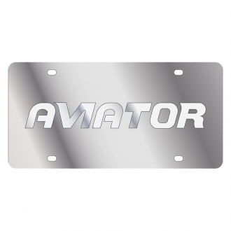 Eurosport Daytona® - Ford Motor Company License Plate with Silver Aviator Logo