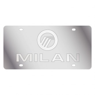 Eurosport Daytona® - Ford Motor Company License Plate with Silver Milan Logo