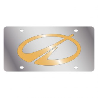 Eurosport Daytona® - GM License Plate with Gold Oldsmobile Logo