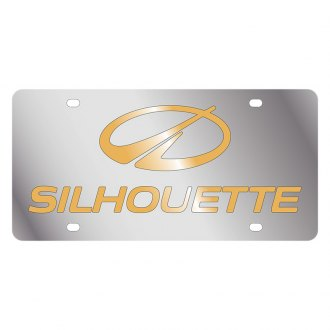 Eurosport Daytona® - GM License Plate with Gold Oldsmobile Silhouette Logo & Word
