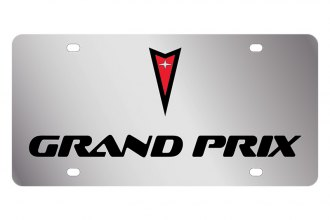 Eurosport Daytona® - GM License Plate with Black Grand Prix Logo & Word