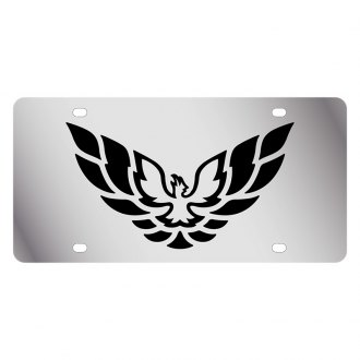 Eurosport Daytona® - GM License Plate with Black Firebird Logo