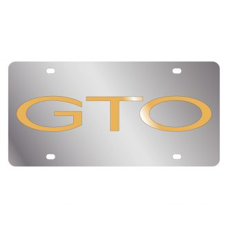 Eurosport Daytona® - GM License Plate with Gold GTO Word