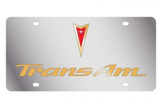Eurosport Daytona® - GM License Plate with Gold Trans Am Logo & Word