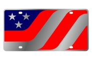 Eurosport Daytona® - American Flag Caricature LSN Series License Plate