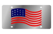 Eurosport Daytona® - American Flag Waving LSN Series License Plate