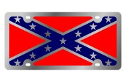 Eurosport Daytona® - Rebel Flag LSN Series License Plate