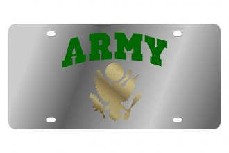 Eurosport Daytona® - LSN License Plate with Army Arched Logo