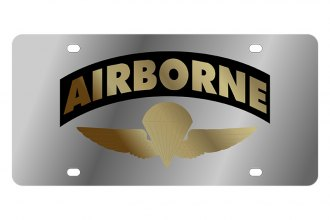 Eurosport Daytona® 1922-1 - LSN License Plate with Airborne Logo