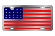 Eurosport Daytona® - USA Flag LSN Series License Plate