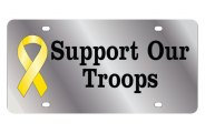 Eurosport Daytona® - Support Our Troops LSN Series License Plate