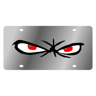 Eurosport Daytona® - LSN License Plate with Scary Eyes Logo